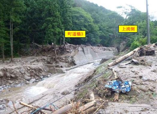 写真 被災後の流路工