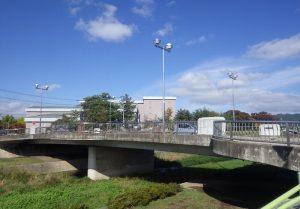 松本市浅間 スポーツ橋
