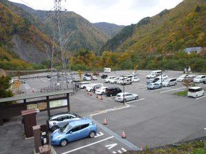 松本市沢渡駐車場