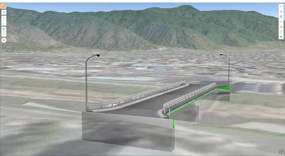 橋梁の3Dモデル